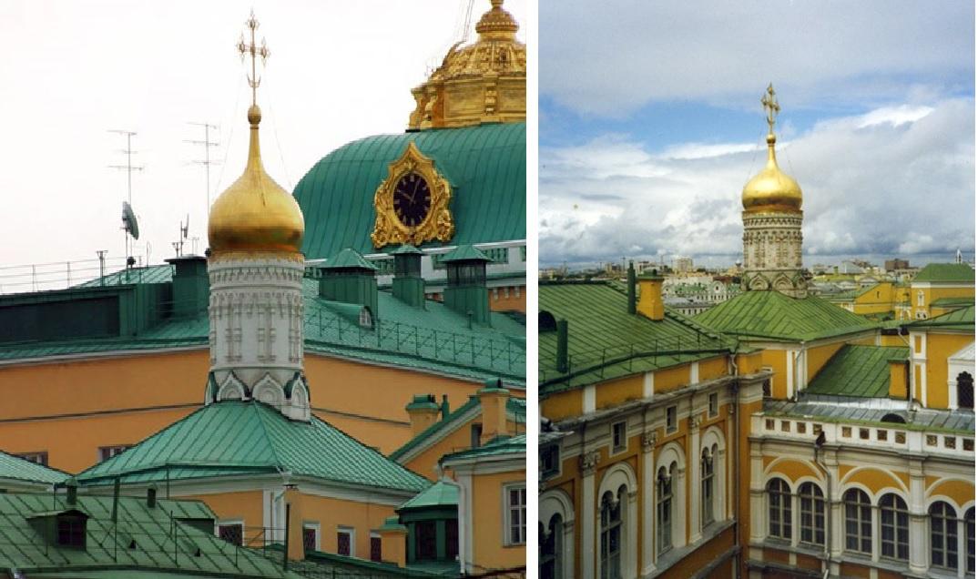 Москва. Церковь Рождества Пресвятой Богородицы на сенях