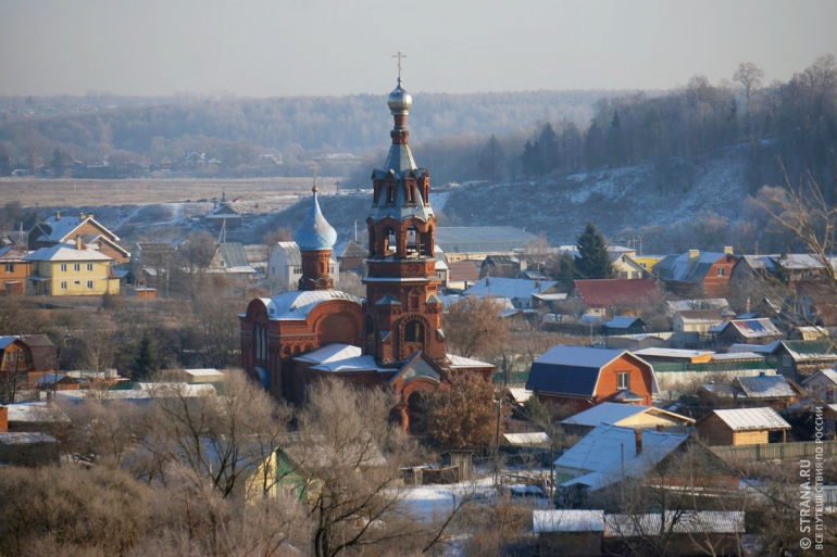 Живописная старина  города Боровска. Россия Боровск