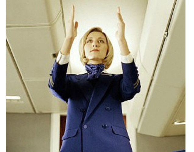 После приземления самолета