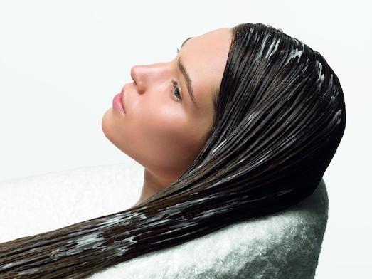 Полезные маски для седых волос