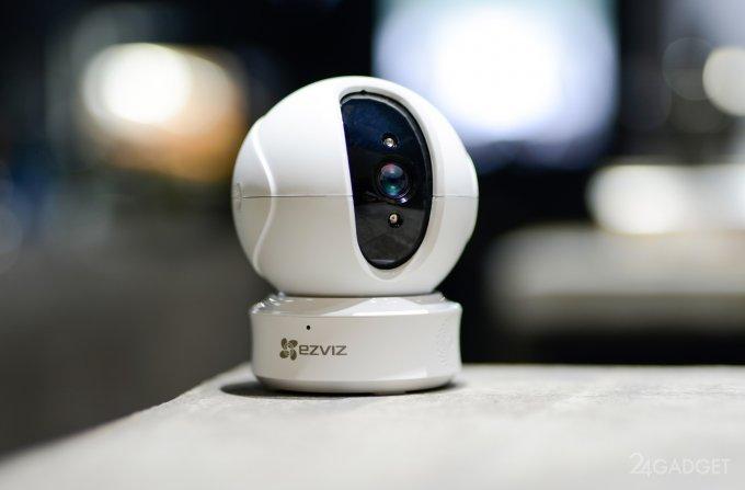 Ezviz C6CN - обновленная камера для умного дома