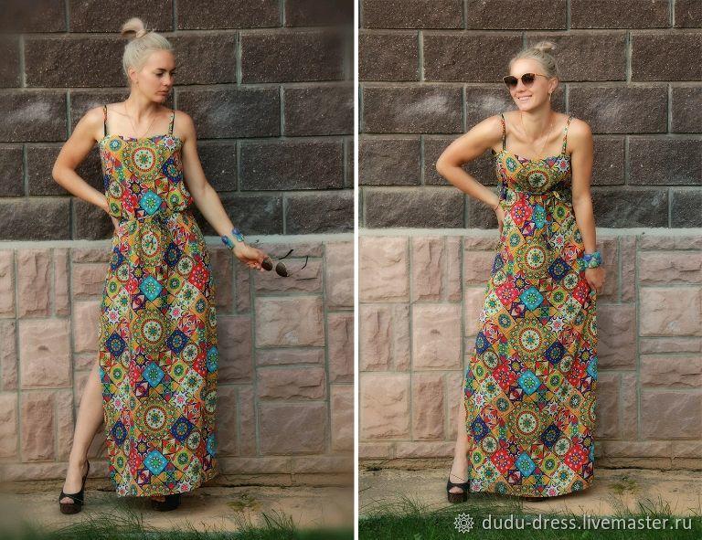 шитье и крой, простое платье