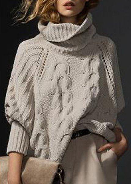 Тенденции осени - прикупаем стильный свитер к холодам