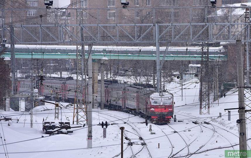 В Москве проезд в электричка…