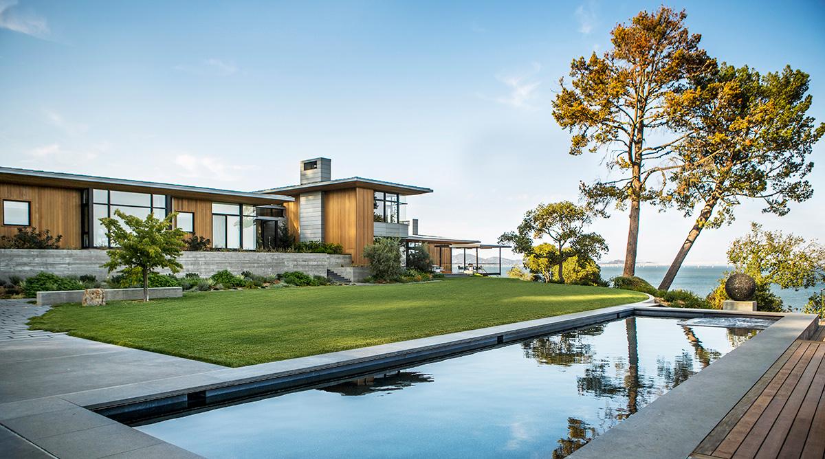 Дом в заливе