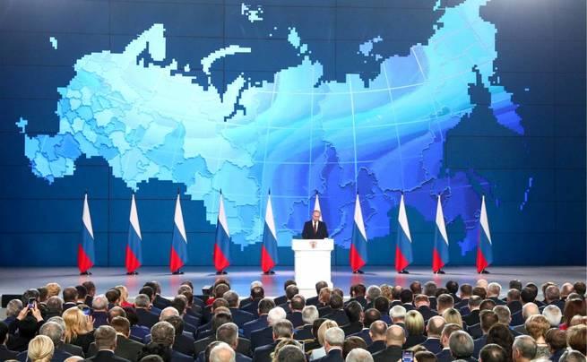 Путинская Россия в гиперзвук…