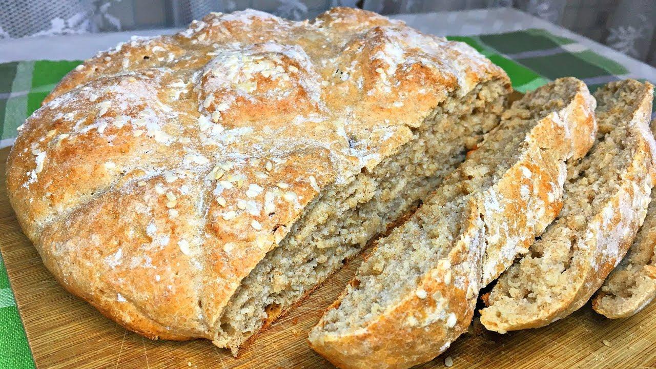 Цельнозерновой хлеб на кефире выпечка,кулинария,хлеб