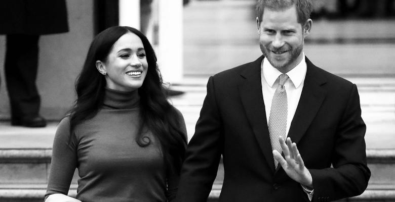 Меган и Гарри покидают корол…