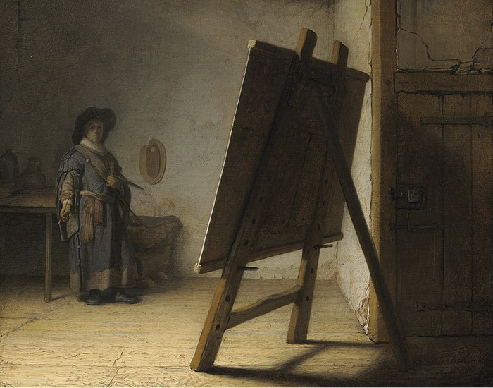 Автопортрет в мастерской: Что на самом деле показывали живописцы на таких картинах