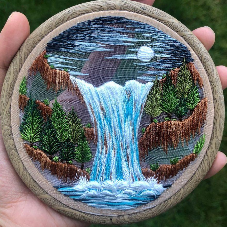 Природа на ладони: завораживающая вышивка от Sew Beautiful вдохновляемся,вышивка