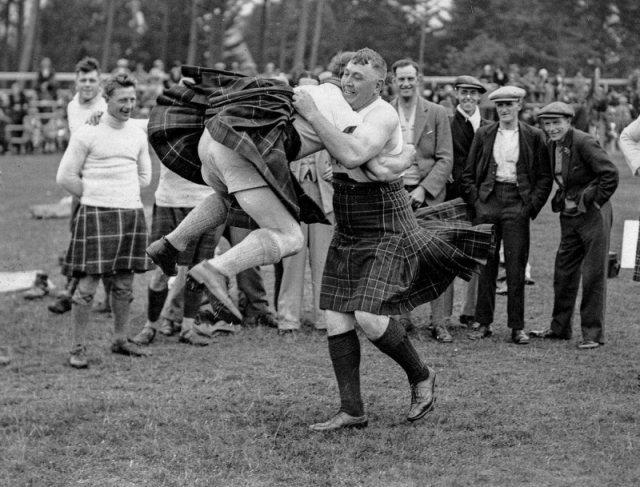 Шотландская борьба. 1929 г история, люди, мир, фото