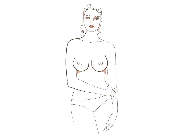 основные типы женской груди