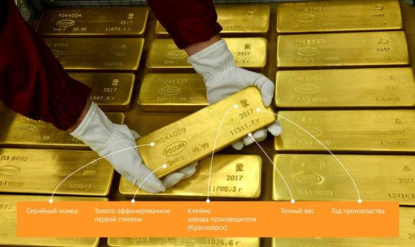 Новый золотой рубеж: РФ прибавила 31,1 тонны монет к общему запасу
