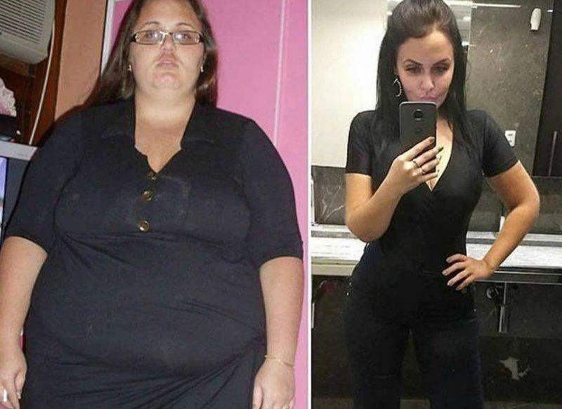 Женщины Которые Сбросили Вес До И После. До и после похудения (26 фото)