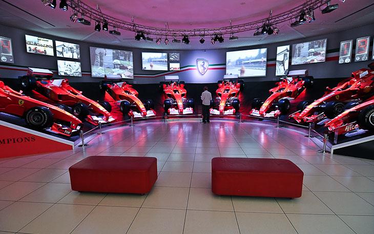Музей Ferrari в Италии