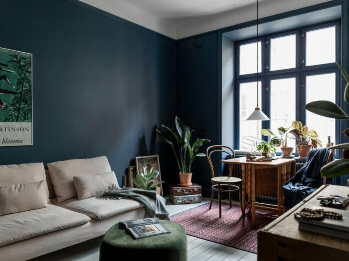 Мрачная квартира: 7 ошибок при оформлении интерьера с темными стенами идеи для дома,интерьер и дизайн