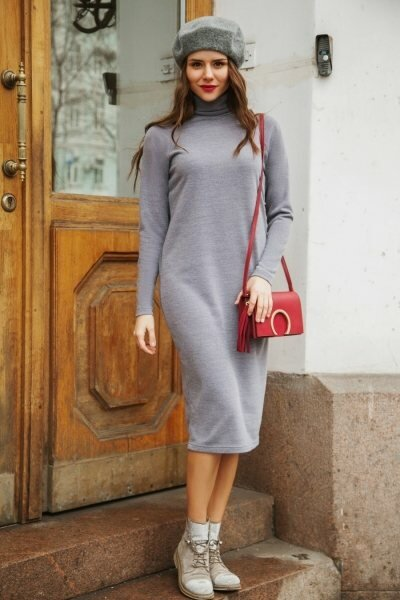 6 стильных способов носить вязаное платье и быть самой элегантной