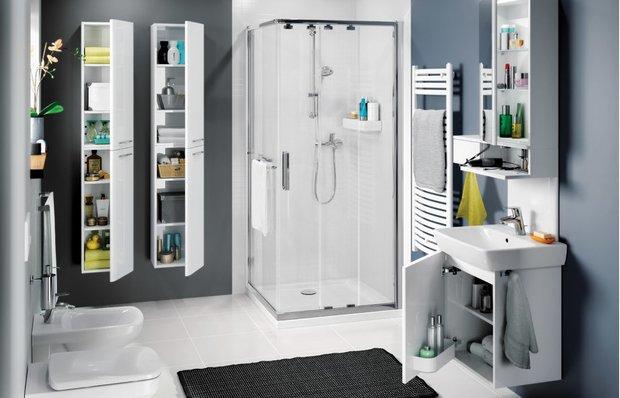 Эргономика в маленькой ванной: как не сойти с ума от неудобства?
