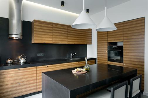 Стилевое решение кухни от интерьерной мастерской Сергея Махно