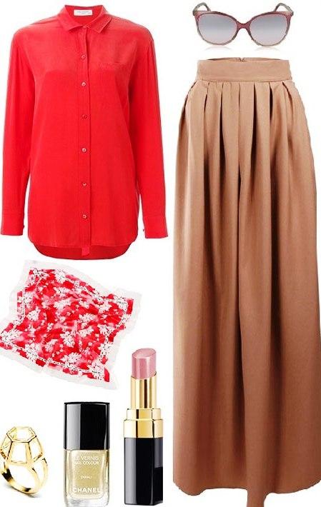 С чем носить красную рубашку? Сеты помогут нам разобраться с этим вопросом