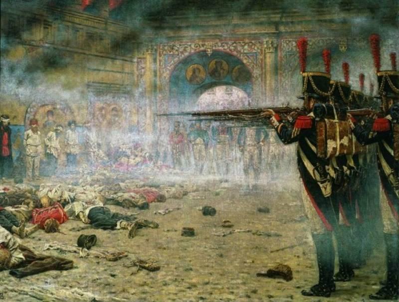 О русском звере и французском кавалере