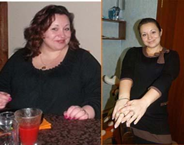 Моя сестра похудела на 32 кг.