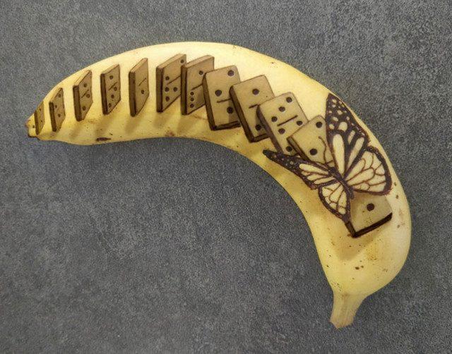 Банановое искусство вдохновляемся,творчество