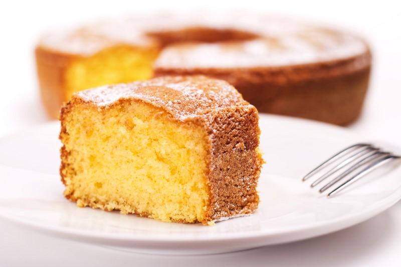 бисквит на кефире с растительным маслом