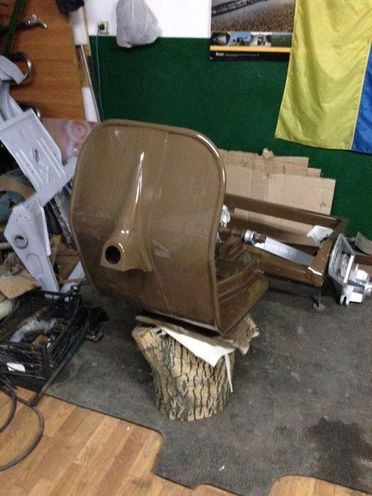 Восстановление старого мотороллера Вятка МГ-150 вятка, мотоцикл, ремонт
