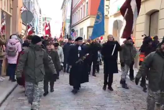 Парад эсесовцев в Риге вызва…
