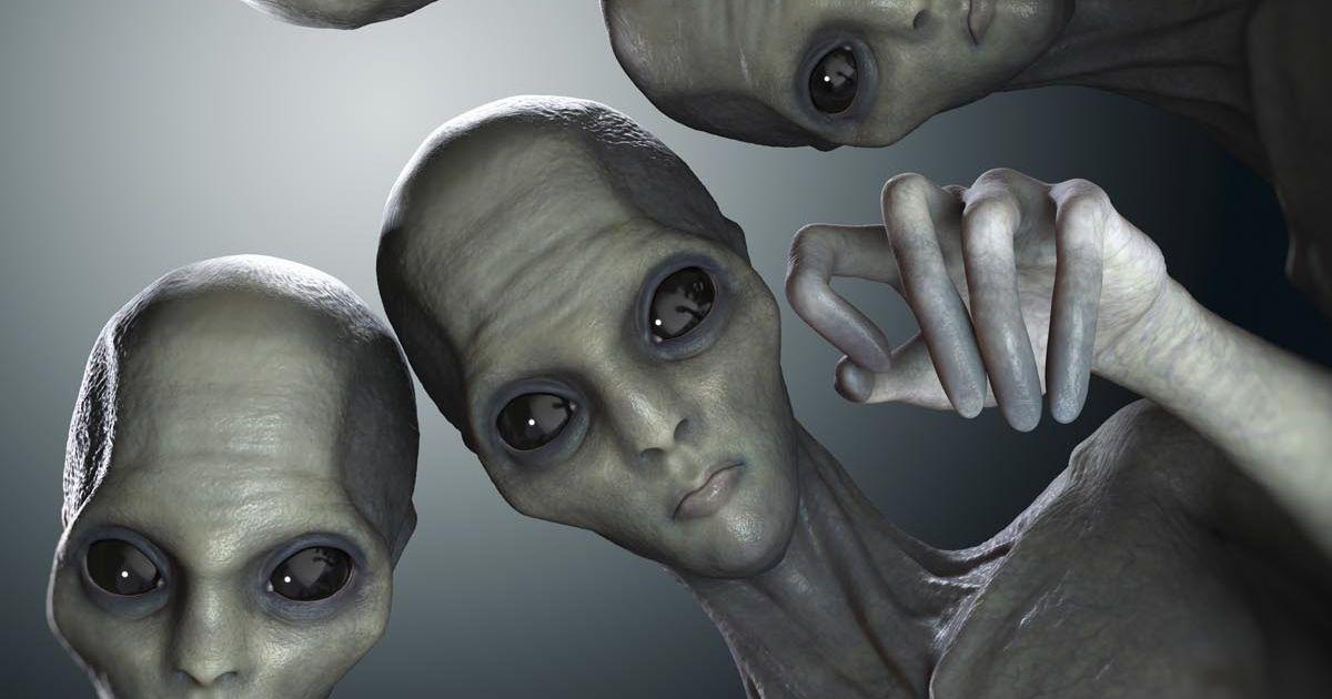 картинки нло с пришельцами