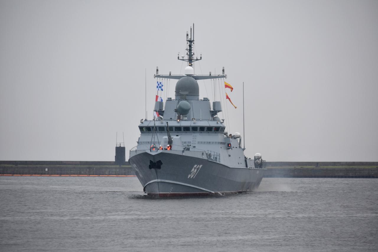 Уникальный боевой корабль ВМФ России