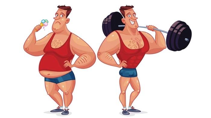 Выбор всегда за мужчиной: вести здоровый образ жизни или к сорока годам приобрести букет болезней / Фото: kak-nakachat.ru