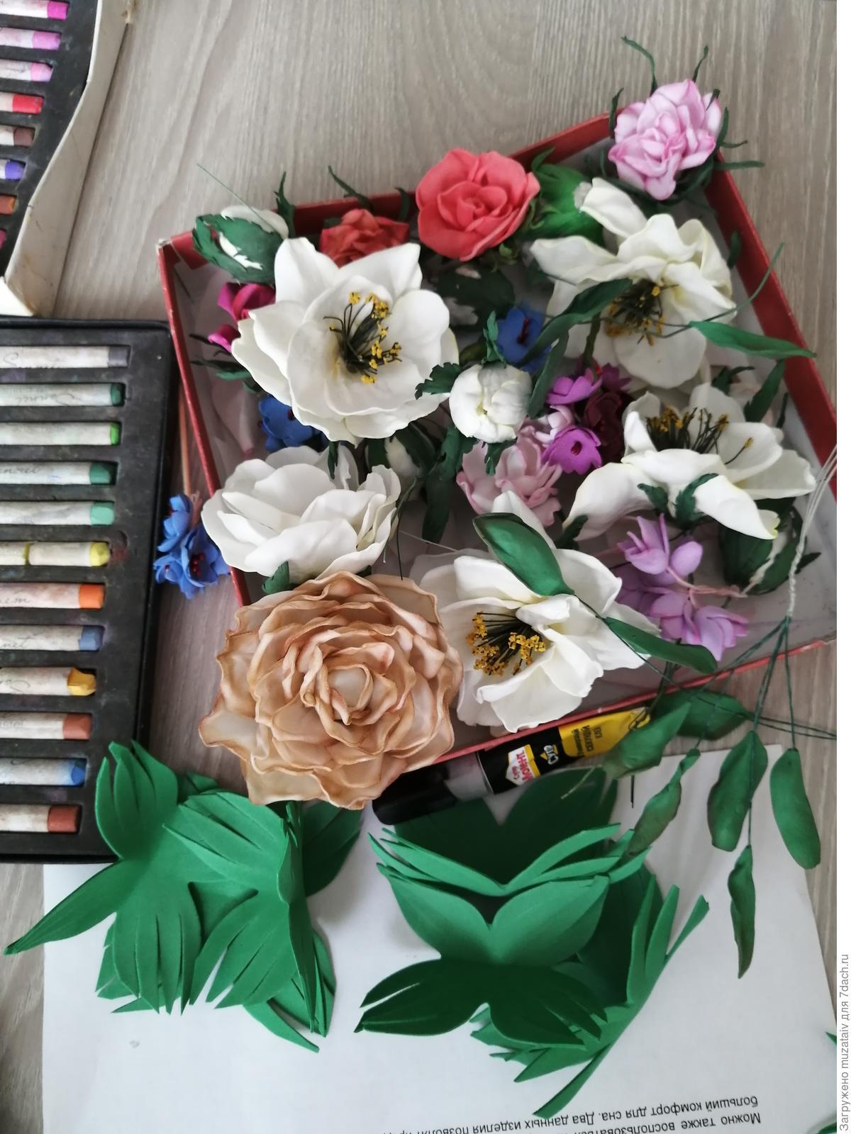 Интерьерные цветы круглый год! декор,интерьер,мастер-класс