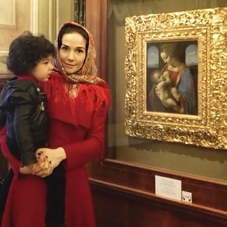Наталья Орейро поделилась архивным кадром с сыном Мерлином ГрудногоВскармливания,Звездные дети