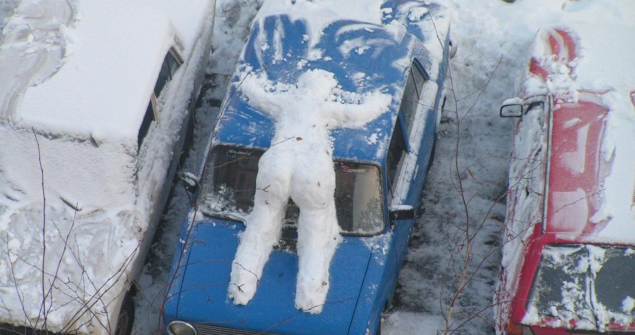 фото прикол про желтый снег прессе