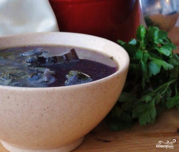 ДЕНЬ ПЕРВОГО БЛЮДА. Суп из краснокочанной капусты (1)