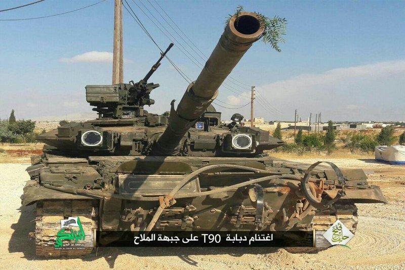 Обладание Т-90А мало чем поможет игиловцам