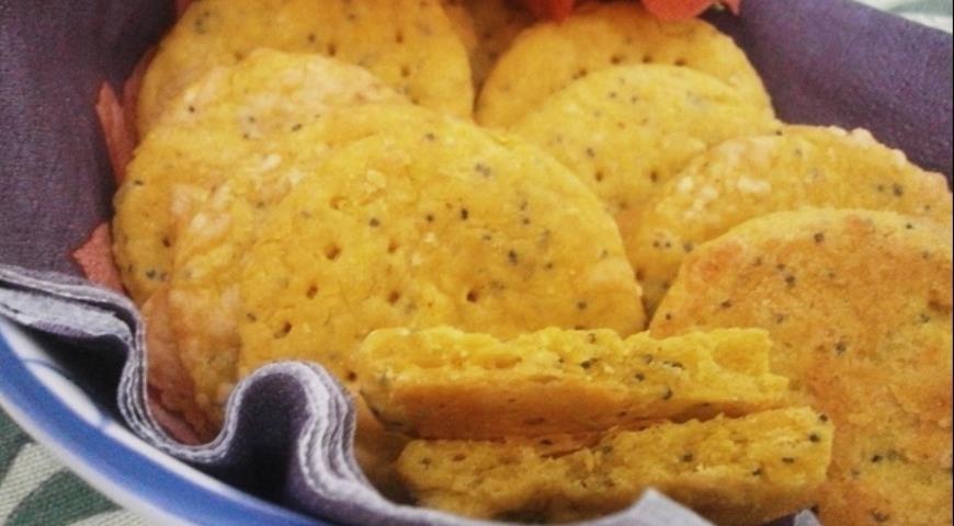 Соленый крекер за 15 минут (печенье в пост)