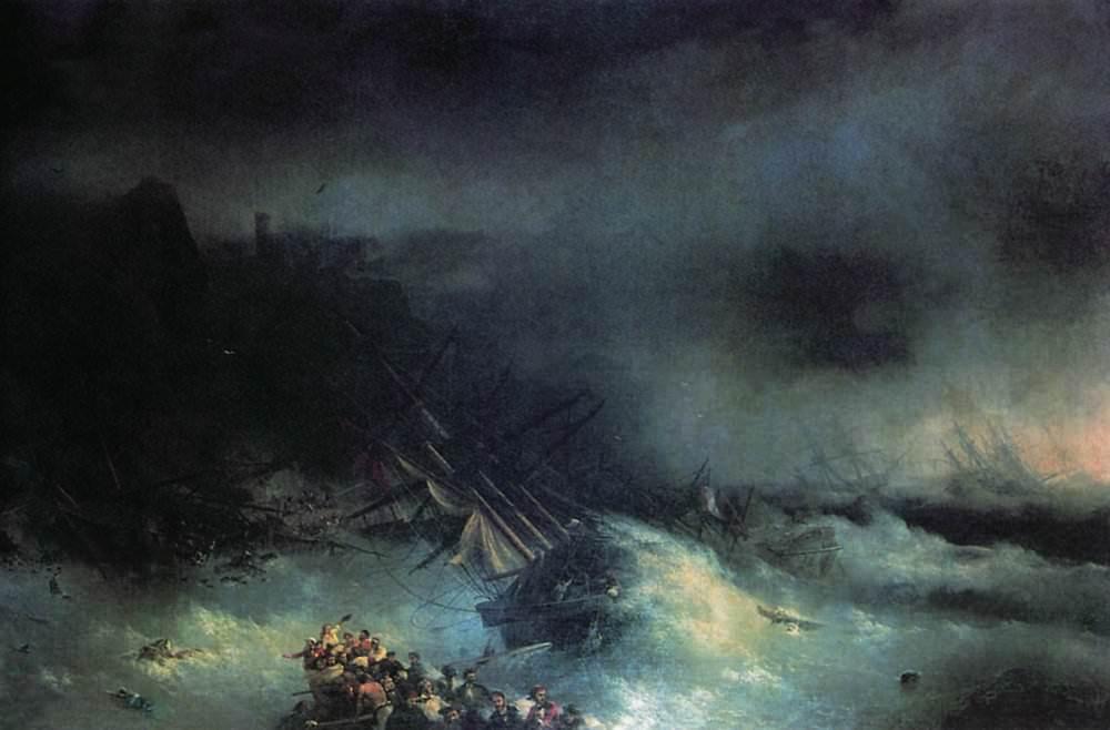Кораблекрушения в творчестве Айвазовского