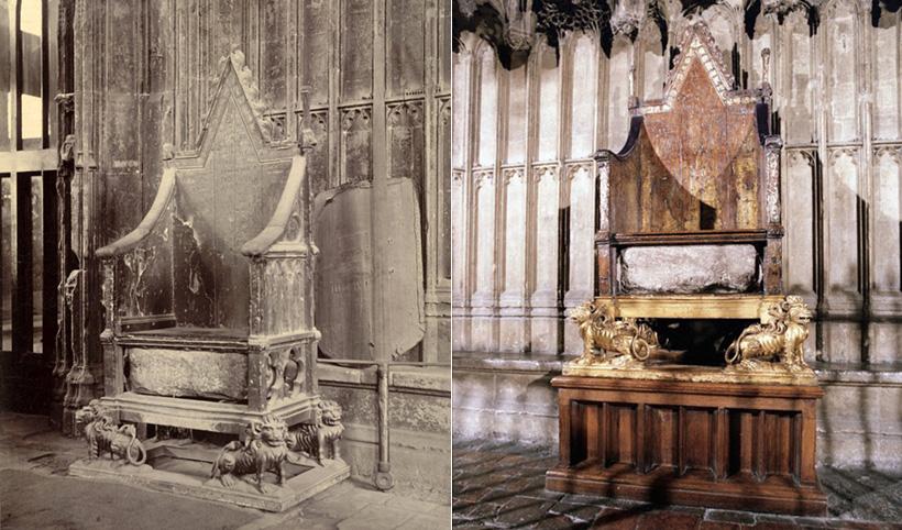 Коронационное кресло с Камнем судьбы