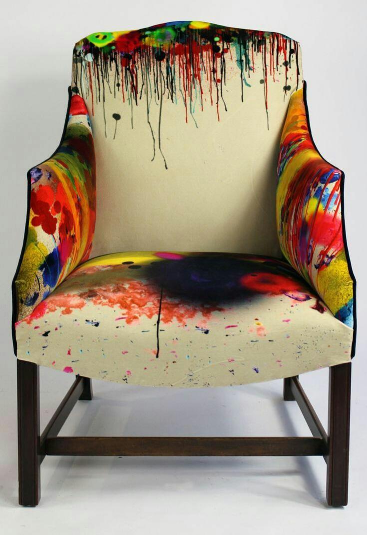 Пятнистое кресло