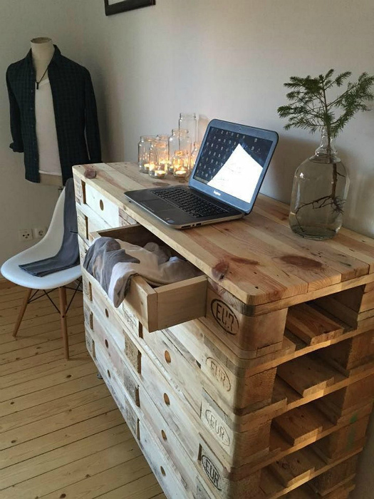 Старая мебель по-новому