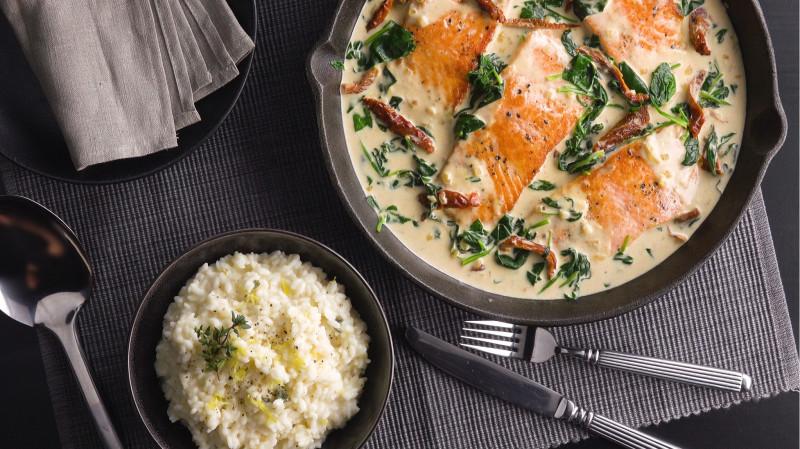 Потрясающий ужин на двоих: такой вкусной рыбки мы еще не ели