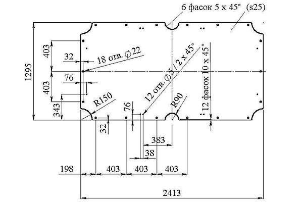 Бильярдный стол своими руками размеры фото 996
