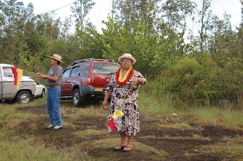 Нарядные местные жители америка, вулканы, гавайи, пейзажи, природа, путешествия