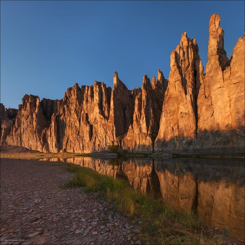 Якутия - Замки реки Синей путешествия, факты, фото
