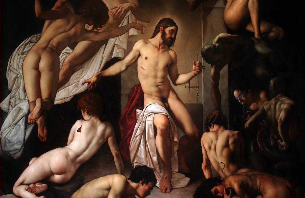 Роберто Ферри – Микеланджело, укушенный Дали