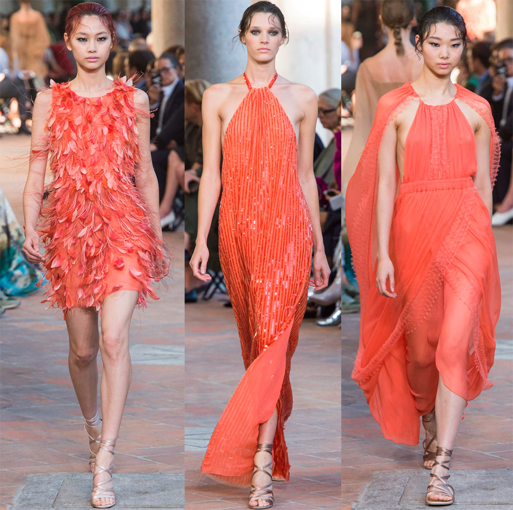 Платья от Alberta Ferretti