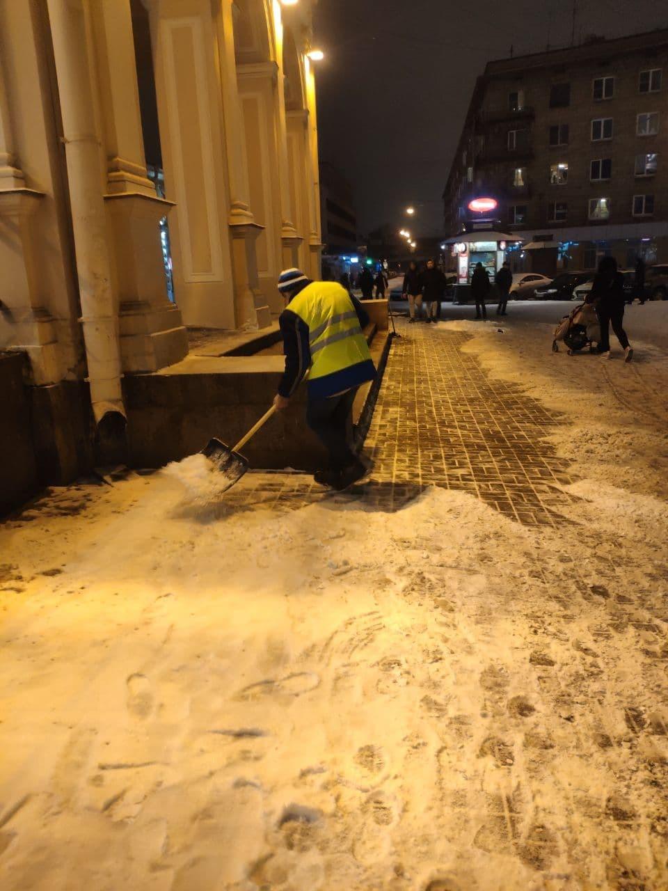 Снегопады и льды Питеру теперь не страшны россия